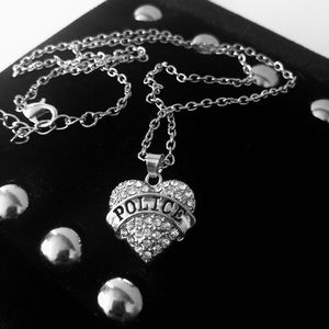 """Jewelry - NEW in gift box Police silver 18"""" Pendant Necklace"""